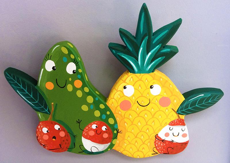 Fruits exotiques BD