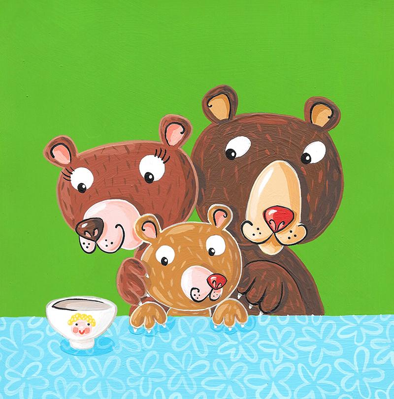 Les 3 ours BD