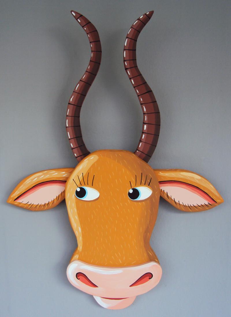 Tête Antilope médium BD