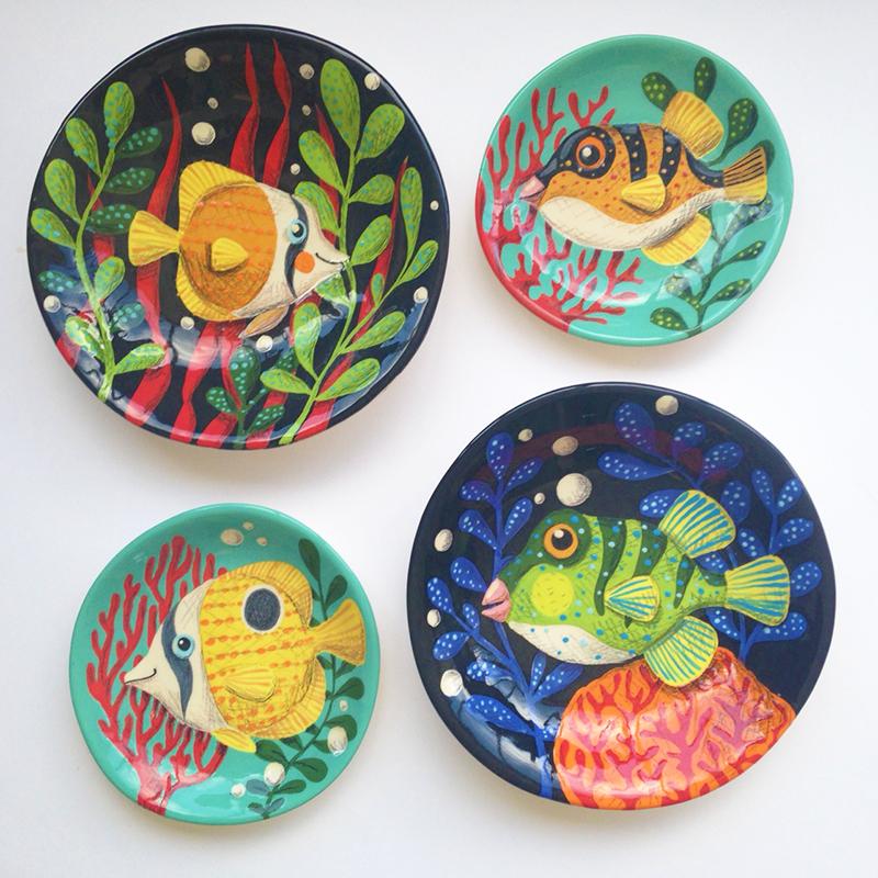 4 poissons BD