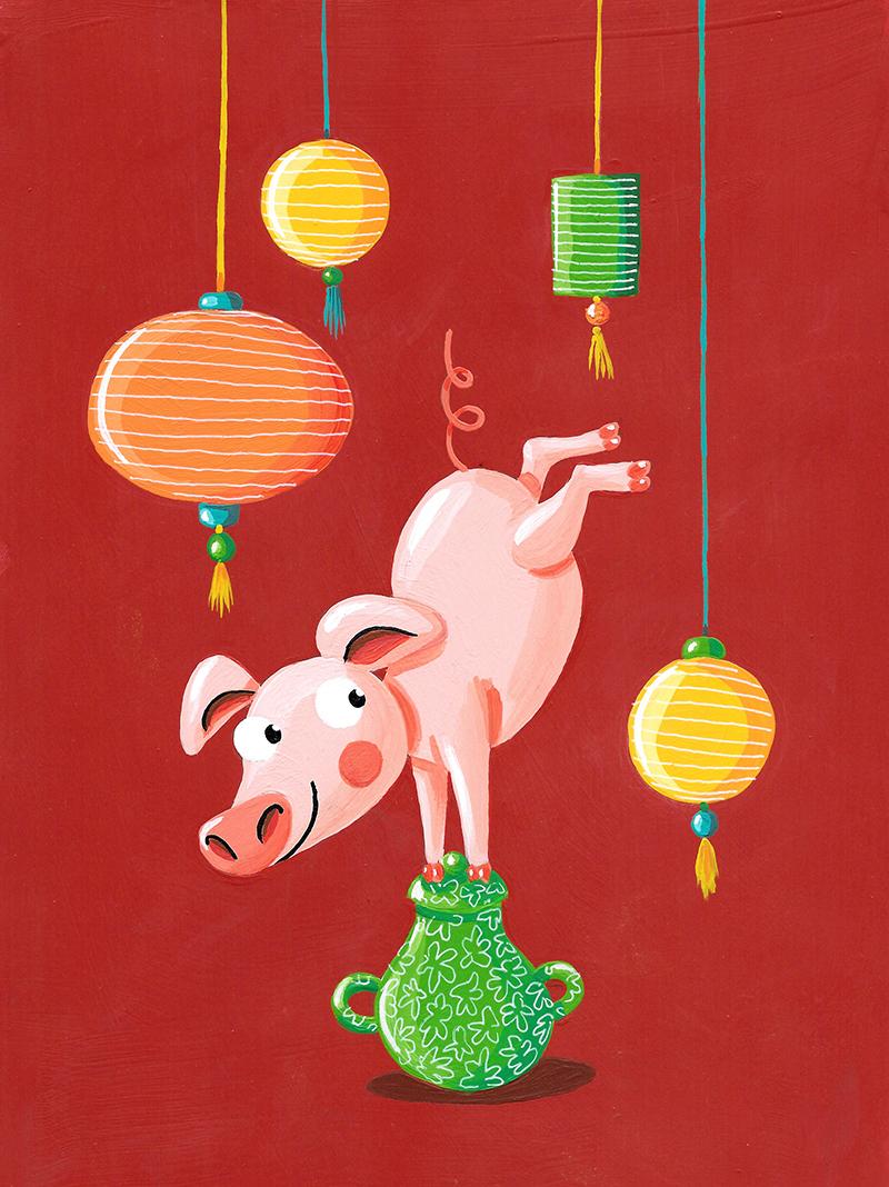 Cochon de terre
