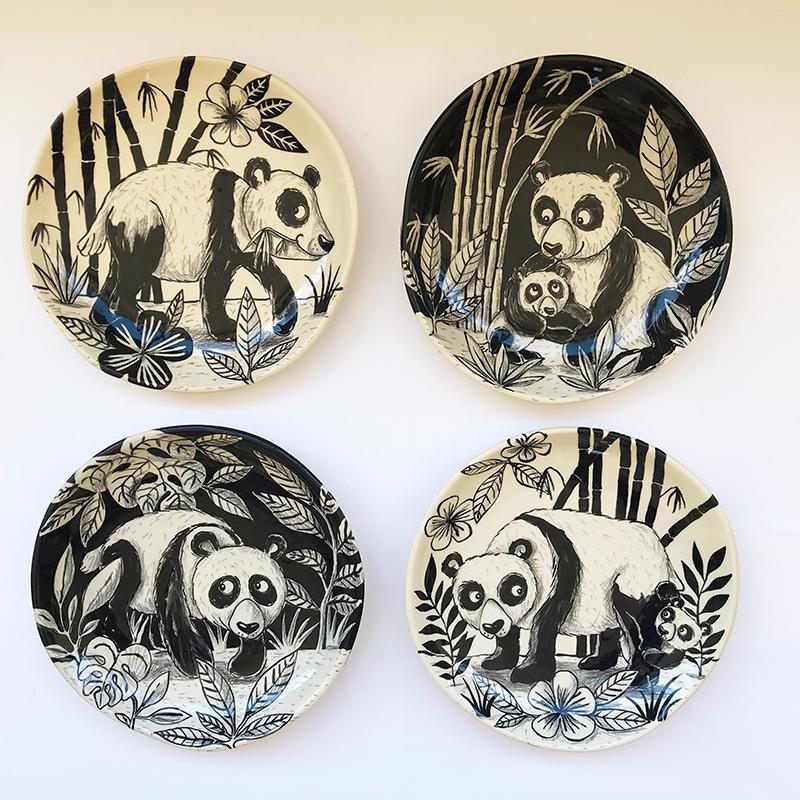 Famille pandas